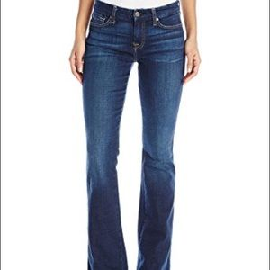 7 for All Mankind A Pocket boot cut jeans